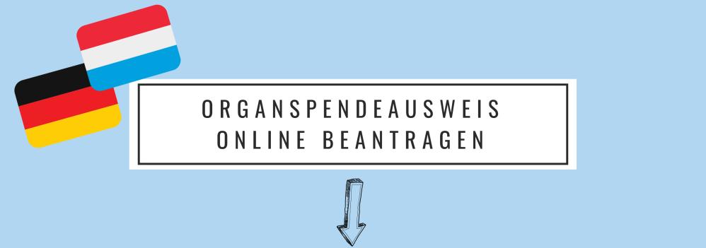 Organspendeausweis online beantragen