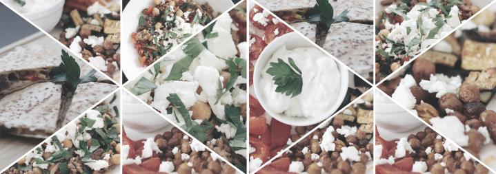 3 Rezepte unter 3 Euro 🍽 Quesadillas, Kichererbsenpfanne undOfengemüse