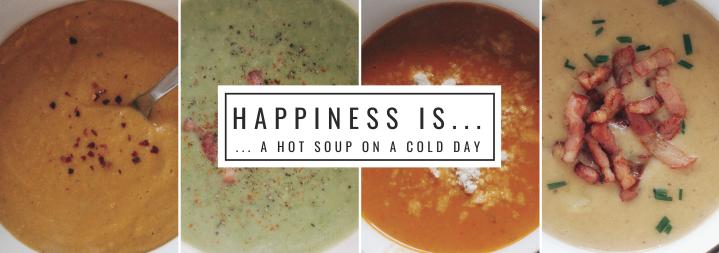 4 Suppen für kalteWintertage