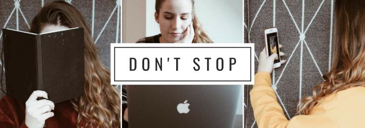 Regelmäßig bloggen trotzKlausurenphase?