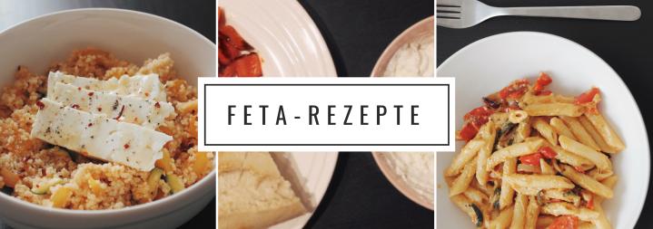 Was mach' ich mit dem Feta?–Rezeptideen