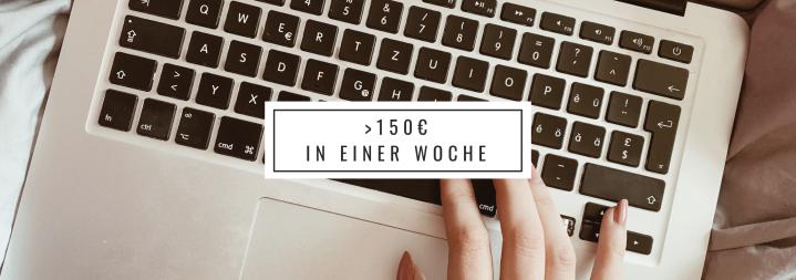 Online mit Schreiben Geld verdienen |Experiment