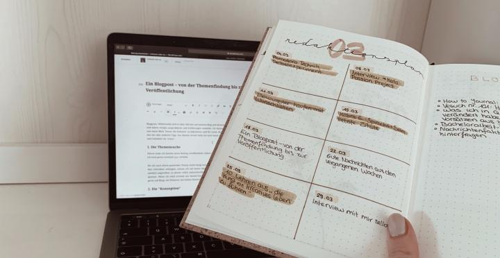 Ein Blogpost – von der Themenfindung bis zur Veröffentlichung
