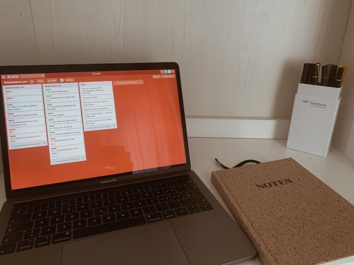 Redaktionsplanung mit Trello | übersichtlich, einfach und effektiv Projekteorganisieren