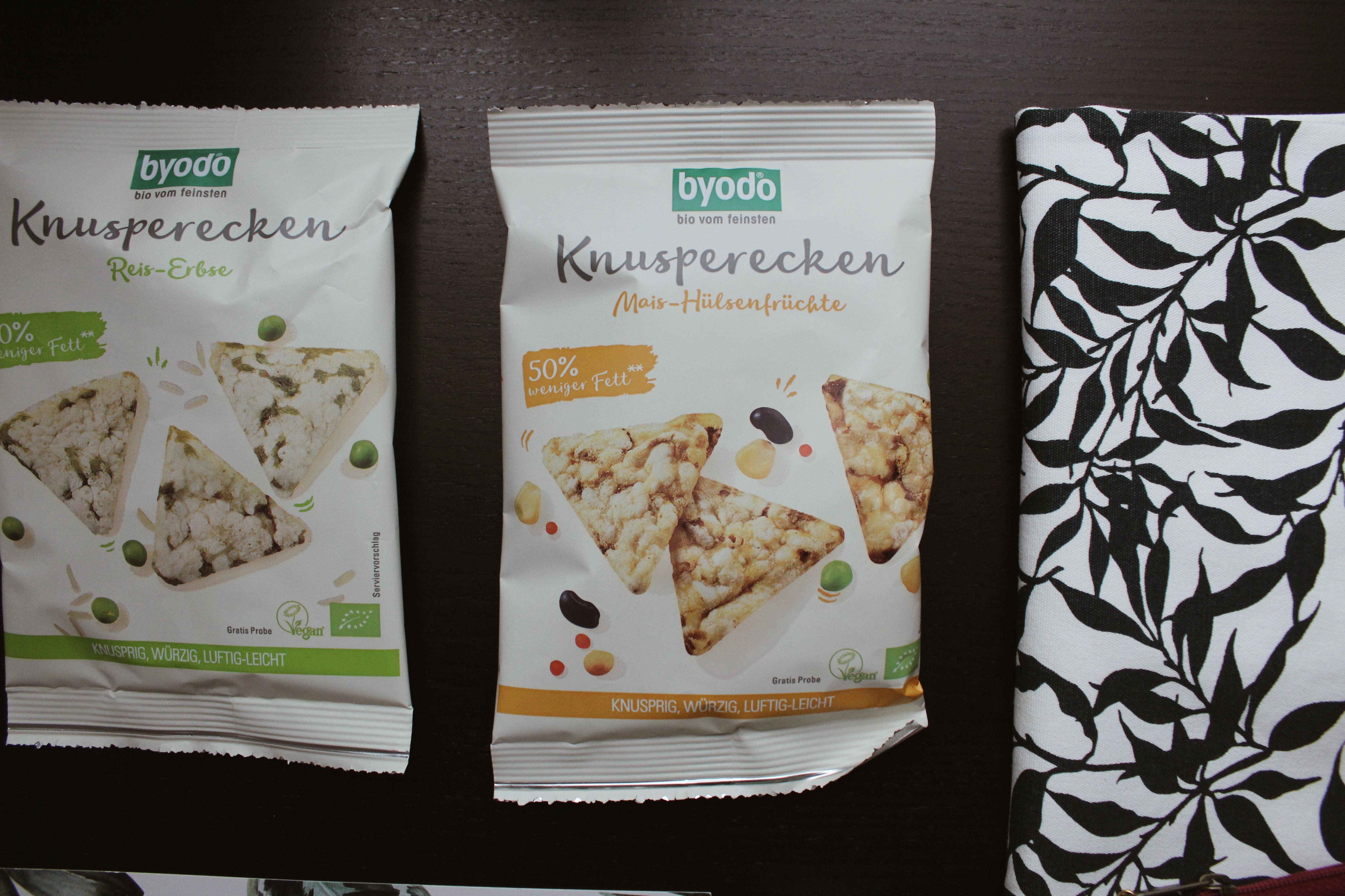 gesunder veganer Snack, Knusperecken